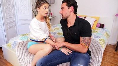 CUM4K Experienced Step Dad Sex Education FUCK & CREAMPIE