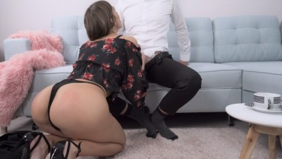 Clumsy Beauty Slut Secretary Gets Fucked by her Boss