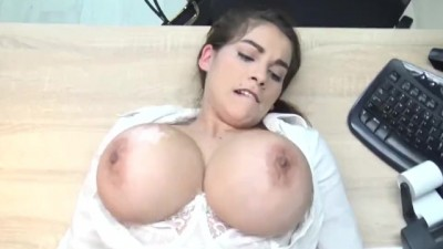 Happy loan manager fucks mouth and cunt of hot girl