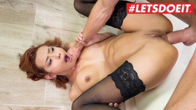 Her Limit - Latina Small Titted Veronica Leal Hardcore Anal Sex & Squirting