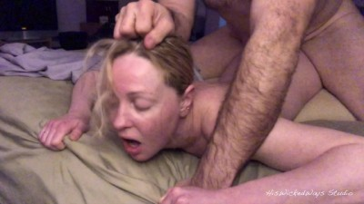 Cute Tiny Blonde Gets her Tight Ass Fucked HARD! & Scream - Wicked Fellow