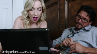 I Caught my Stepdad Watching Teen Girl Porn Videos!