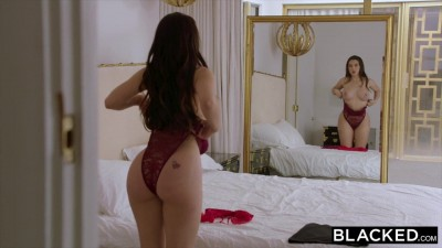 BLACKED Lonely Sexy Beauty Lana Rhoades Cheats with A Dominant BBC