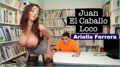 BANGBROS - Big Tits Slut MILF Teacher Ariella Ferrera Helps Juan El Caballo Loco