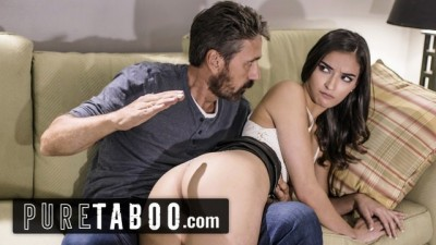 PURE TABOO Sexy Slut Emily Willis Spanked & Punished by Stepdad