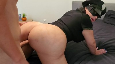 Big Booty Hot Officer Crystal Lust Arrests Suspect In Action and Fucks Him