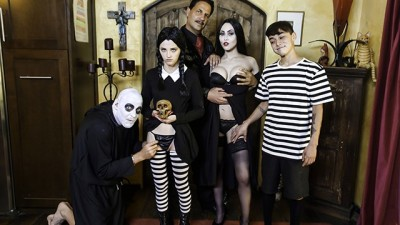 FamilyStrokes - Halloween Orgy Costume Party