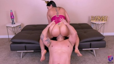Gorgeous Hpttie Big Ass Brunette Loves Rough Fuck