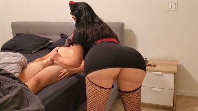 Big Ass Slut Nurse Destroy Big dick in December