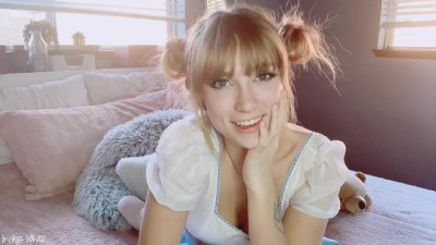 Cute Girl Is Preparing A Video For Her Step Brother - INDIGO WHITE