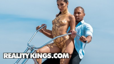 Reality Kings - Skinny Brunette Emily Willis Sensual Deepthroats BBC