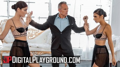Digital Playground - Two Petite Sexy Dancer Share Huge Cock!