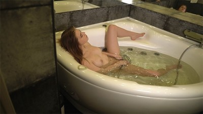 Caught Step Sister Masturbating in the Jacuzzi! Forbidden ANAL Sex in Bathtub