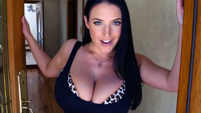 Busty Real Estate Agent Hottie Angela White hungry for Cock
