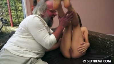21Sextreme - Is After Sex With Her Grand Father On Fire