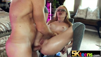 5KTEENS Blonde Slut Spinner Candy White Fucked in her Tight Ass
