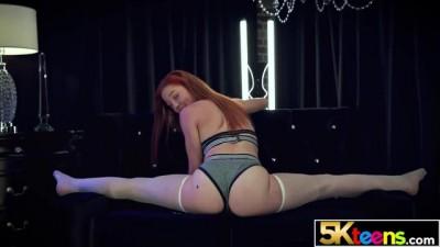 5KTEENS Curvy Gorgeous Hot Redhead Luna Light Creampied