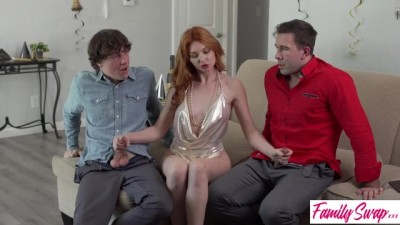 Half Sister Made Her Brother And Father Horny