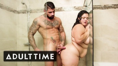 ADULT TIME BBW Karla Lane Steamy Gorgeous Hard Sex in Shower