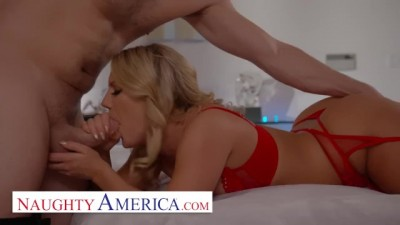 Naughty America - Blonde Sexy Candice dare Gets a Fucking HARD Deal