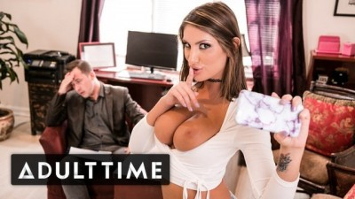 Busty Big Tits Hottie August Ames wants Doctor's Dick