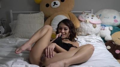 Asian Girl Hot Fingering Masturbation