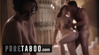 PURE TABOO Curvy Babe Lena Paul Coaxed into Anal with Bosses Husband