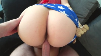 Sexy Wonder Woman with big ass Hot Fucked / Cosplay
