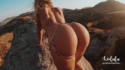 Young Couple Climbed a Mountain, They Sensual Hard Fucked! Amateur Couple LeoLulu