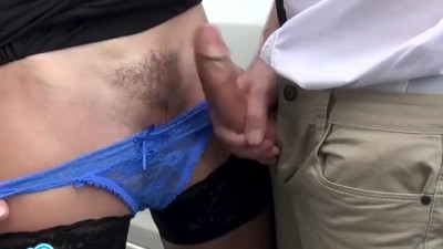 Hot Mom and Stepson Sperm on Pussy. Cum in Panties,  Wet Pussy
