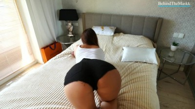 Curvy Ass Hot Girl Bounce on my Dick!