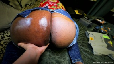 PHAT ASS Lonely Curvy Step Mom Fucked HARD in RIPPED JEANS