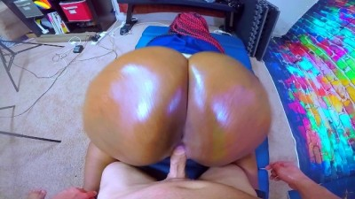 Black Cop Whore Takes Intentional Jizz from White Cock