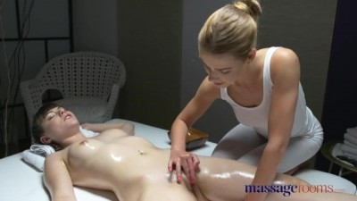Massage Rooms Perfect French Teen Oiled Hot Massage & Deep Sensual Orgasm