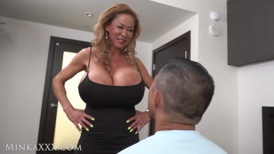 Huge Fake Tit Minka Adores Cock & Swallows