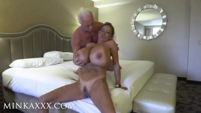 Fake Tits Minka Fucks Mr. Claudia Marie
