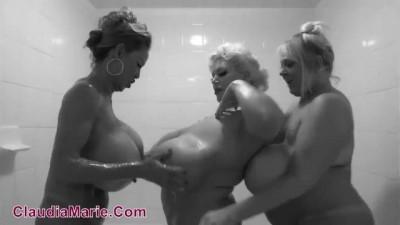 Minka, Claudia Marie, Kayla Kleevage - Threesome Lesbian Sex