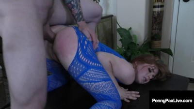 Pretty Hottie Slut Penny Pax Gets Tight Chocolate StarFish Fucked Hard!