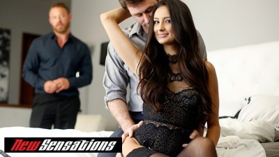 NewSensations.com - Hotwife Beauty Eliza Ibarra Cheating Fucks his Best Friend