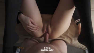 I Caught her Masturbating with Pillows then Fuck my Horny Asian Roommate Babe 玩偶姐姐