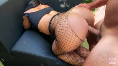 Curvy Hottie Teen Fucks the Gardener while her Parents are away - Misslexa