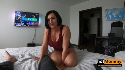 Busty Hottie MILF GF Asks to Call her Step Mommy!