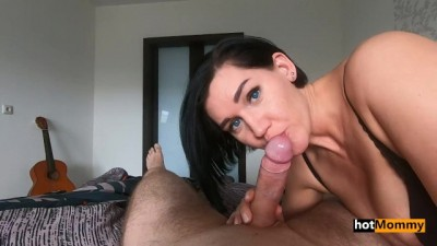 Curvy Hottie Step Mom Takes Son's Virginity POV RP
