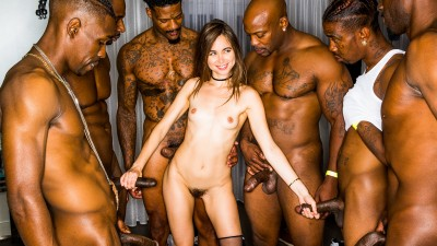 My girlfriend got gangbang at the after night party