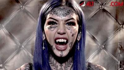 HO HUNTERS - Inked Hot Ghost Amber Luke wants to Fuck Hard