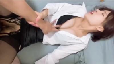 高颜值露脸女神空姐秘书网红模特