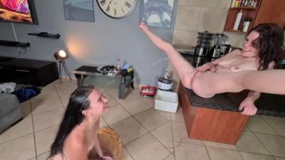 My Friend Licking my Pussy & Golden Shower | GotPorn