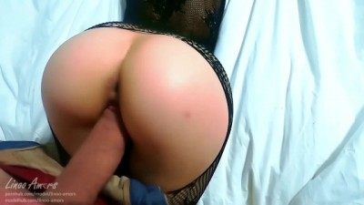 Big Ass Step Mom Wears the Gift of Stepson for Girlfriend to Seduce him - Linoo Amors