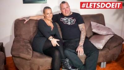 LETSDOEIT - German MILF Couple Fucks for the first Time on SexTape