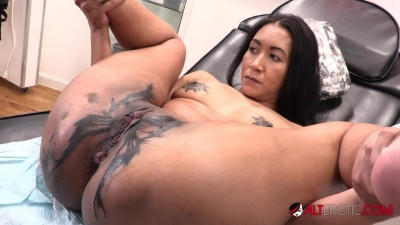Sindy Ink Horny Tattoo Session Rough Sex